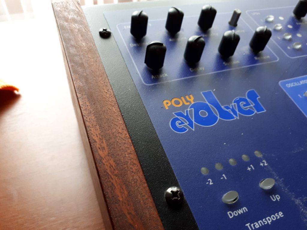 Poly Evolver synthesizer